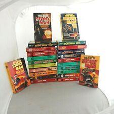 Don Pendleton Max Bolan Series 24 Paperbacks Stony Man Counter-insurgency