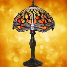 Tisch Lampe im Tiffany Stil Antiquitäten Kunst Design bronzefarben Handarbeit 3