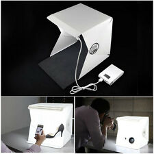 US Photo Studio Light Room Backdrop Cube Photography Lighting Tent Kit Mini Box
