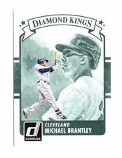 Michael Brantley 2016 Panini Donruss, Diamond Kings, Baseball Card !!