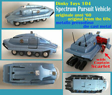 DINKY TOYS 104 SPV SPECTRUM PURSUIT VEHICLE - Gerry Anderson TV Captain Scarlet