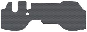 1 PC Gray Rubber Floor Mat Fits 2007-up Isuzu NPR(and-HD) NQR NRR DIESEL Only