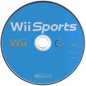 Nintendo Wii sports tested disc only