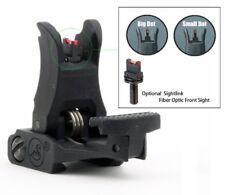 ARMS A.R.M.S. #71L Flip Up Front Sights Folding With Fiber optics post