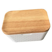 Butter Dish Box Holder Airtight Butter Keeper Kitchen Storage with Lid 250ml