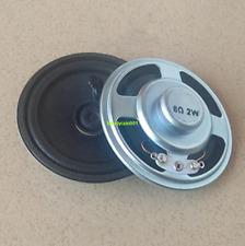2pcs 8ohm 8Ω 2W 57MM full-range speaker Loudspeaker Round woofer For radio/toys