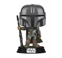 Funko Pop! Star Wars: The Mandalorian - Mandalorian (Chrome) #345