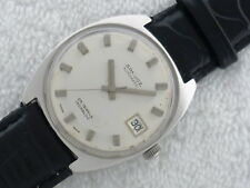Rare find SANDOZ Automatic 25 Jewels Stainless Steel Serviced Watch Swiss made