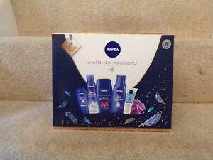 Nivea Winter Skin Indulgence Gift Set New Shower Hand Moisture Serum Mask