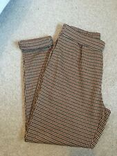 Pull&bear Dog Tooth Trousers Size EUR Small