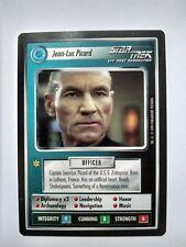 Star Trek ccg M/NM Limited Premiere Jean-Luc Picard