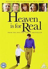 HEAVEN IS FOR REAL (2014 Greg Kinnear) - DVD - REGION 2 UK