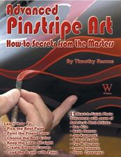 Advanced Pinstripe Art Book~How-To Secrets from the Masters~NEW H/C!