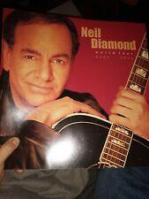 Neil Diamond 2001-2002 World Tour Concert Program Tour Book