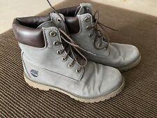 Ladies Timberland Gray Linden Woods Waterproof Boots 8.5