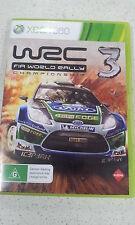WRC 3 FIA World Rally Championship 3 xbox 360