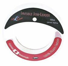 IRON CLAW Invisible Jerk leader 100% FLUOROCARBON 10 M/27 kg./0,80mm i terminali