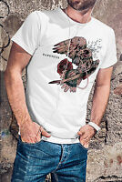 BARONESS New Men White T-Shirt Metal Band Fan Tee Shirt
