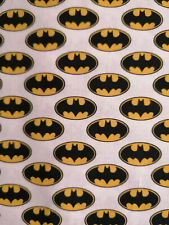 Batman 10 X 140 cm Baumwolle Badmobil Fledermaus Gotham Comic Bruce