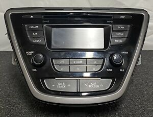 2014 2015 2016  Hyundai Elantra Cd Player Am Fm Radio 961703X156GU OEM
