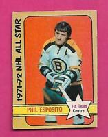 1972-73 OPC # 230 BRUINS PHIL ESPOSITO AS  HIGH # EX  CARD (INV# D1996)