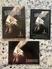 SCHINDLER'S LIST Digipak Edition RARE Photo Book + DVD + Bonus Footage SPIELBERG