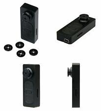 Knopfkamera 1080P Spionagekamera Kleine Knopf Kamera HD Spy Cam Spionage+Knöpfe