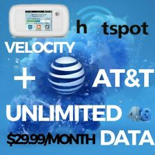 At&t Unlimited Data Plan + Zte Velocity Hotspot On UNTHROTTLED $29.99/month