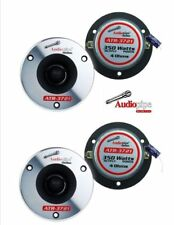 2 Pair Super Bullet Tweeters 4 Ohm 350W Max ATR-3721 High Frequency Car Audio