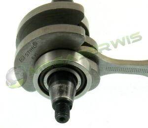 NEW Genuine Original Crankshaft with bearings Stihl MS171 MS181 MS211