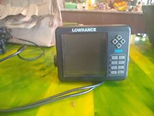 Lowrance X-65 Fish Finder with Cables and Transducer