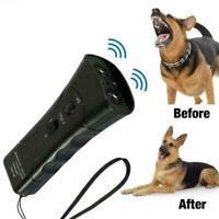 1Ultrasonic Anti Bark Control Stop Barking Away Pet Repeller Training Dog I L6W5