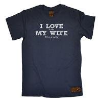 Cycling T-Shirt Funny Novelty Mens tee TShirt - Love Wife Go Cycling