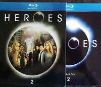 Heroes - Season 2 (Blu-ray Disc, 2008, 4-Disc Set) 100% Guaranteed Very Good