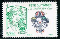 STAMP / TIMBRE FRANCE  N° 4809 ** MARIANNE - FETE DE L'AIR / MONGOLFIERE