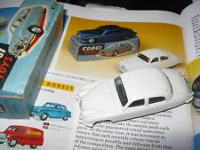 CORGI  208 JAGUAR 2.4 SALOON ORIGINAL CLOSE MINT CAR IN GOOD LIGHT WORN ORIG BOX