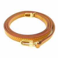 LOUIS VUITTON   Shoulder strap Parts length is not adjustable Nume leather