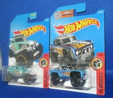 HOT WHEELS COLLECTIBLES HW DAREDEVILS BONE SHAKER AND FORD BRONCO #8/10, NEW