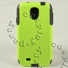 OtterBox Commuter 2-Layers Samsung Galaxy S4 Snap Case Cover - Lime Green/Black