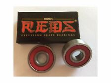 Bones Reds Skateboard Bearings - REPLACEMENT PACK - Two bearings only - 2 PCS
