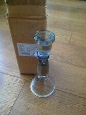 Nkuku - Lanta Glass Candlestick - Small - 19cm x 8cm
