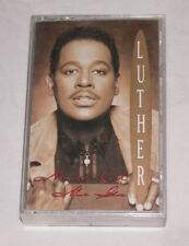 Never Let Me Go by Luther Vandross Cassette, Jun-1993, Epic FREE SHIP U.S.A.