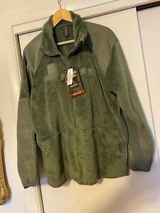 LARGE REG Green Polartec US Military Army Thermal Pro Gen III 3 Fleece Jacket