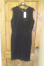 BNWT Black Shift Laser Cut Dress size 12 by George