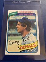 1980 Topps George Brett #450 Baseball Card HOF
