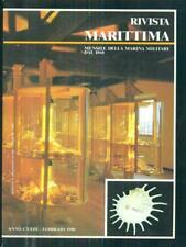 RIVISTA MARITTIMA 2 / FEBBRAIO 1990  AA.VV. RIVISTA MARITTIMA 1990