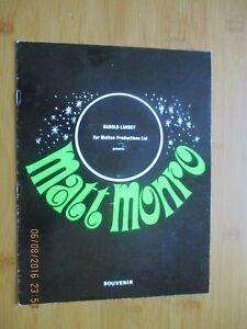 EARLY 1970s ?  MATT MONRO PROGRAMME