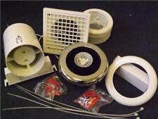 Manrose LEDSLKTC LED Showerlite Bathroom Extractor Fan and Shower Light 100mm
