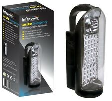 INFAPOWER 60 LED EMERGENCY RECHARGEABLE LANTERN TORCH F019