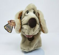 VINTAGE 1984 GANZBROS WRINKLES PUPPY DOG HAND PUPPET STUFFED ANIMAL PLUSH TOY